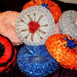 Canadin smocking embroidered cushions