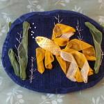 gold fish bag
