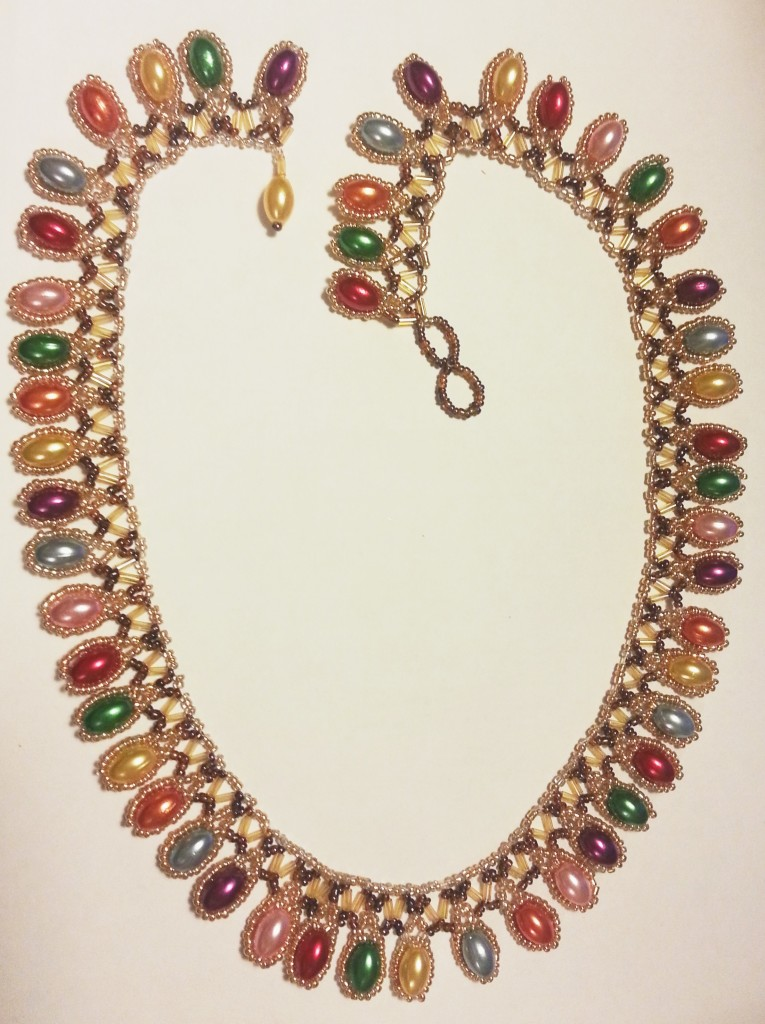 colour drops necklace